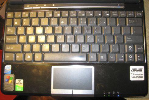 asus eee pc 1000h keyboard
