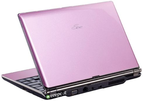 Asus Eee PC S101 pink