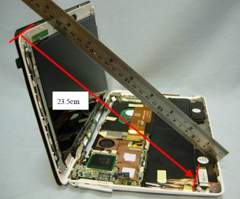 Asus Eee PC 1008ha dissected
