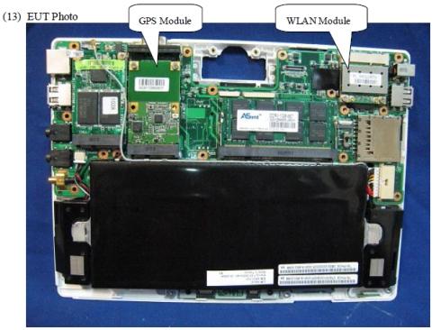 Asus Eee PC T91 FCC
