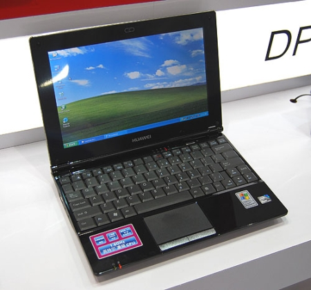 huawei netbook with umts 3g support looks familiar. Black Bedroom Furniture Sets. Home Design Ideas