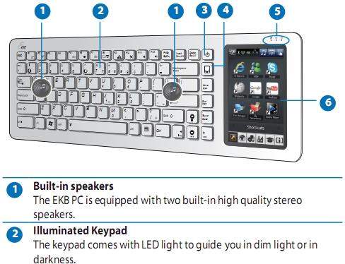 Eee Keyboard manual