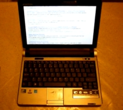 Closer look at the emachines em250 netbook liliputing.