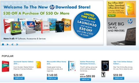 No optical drive? No problem! HP launches download store ...