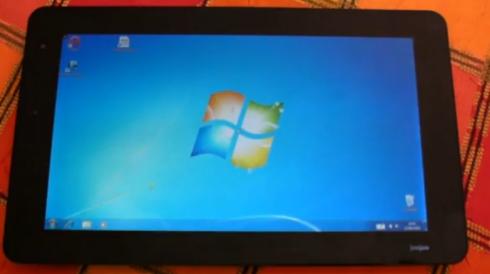 JooJoo Tablet hack: Drop Linux and install Windows 7