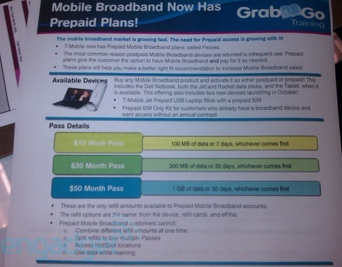 T-Mobile to offer prepaid, contract-free mobile broadband