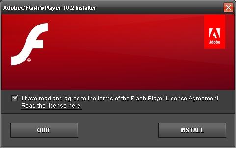 adobe flash player support