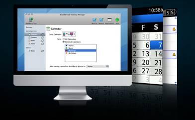 BlackBerry Deskto Manager for Mac