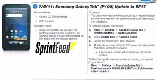 Samsung Galaxy Tab 2.3