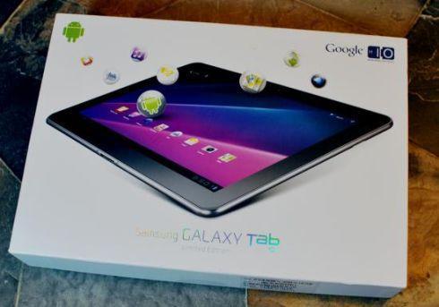 Samsung Galaxy Tab Google IO limited edition