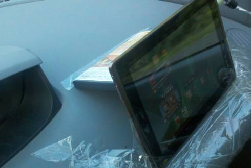 The mother of invention: DIY tablet car mount