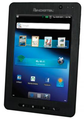 pandigital supernova 8 inch android tablet and ereader liliputing rh liliputing com Pandigital PRD07T20WBL7 Pandigital Multimedia Tablet