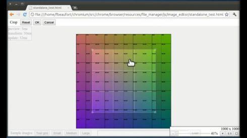 Chrome OS image editor