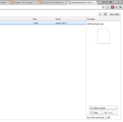 Chrome OS ZIP archive