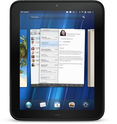 HP TouchPad with webOS 3.0