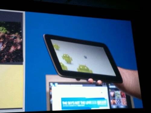 Intel Atom tablet running Android