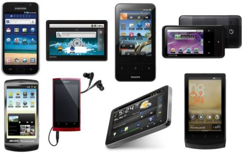 Android portable media players