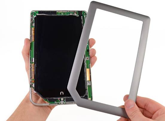 NOOK Tablet dissected