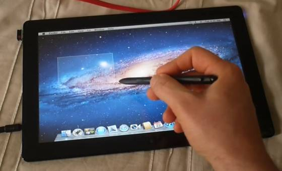 Samsung Series 7 Slate with OS X