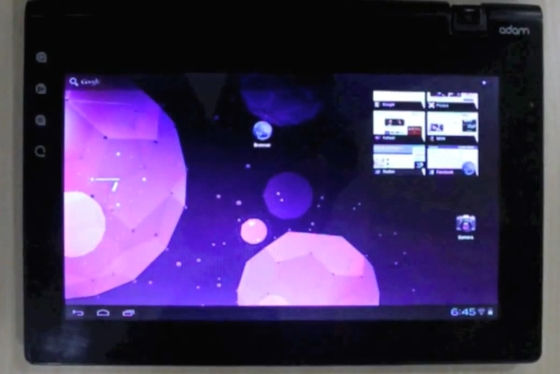 Notion Ink Adam tablet with Android 4.0
