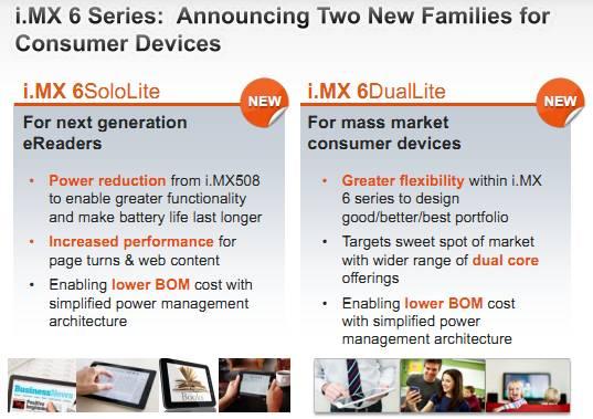 Freescale i.MX6 new