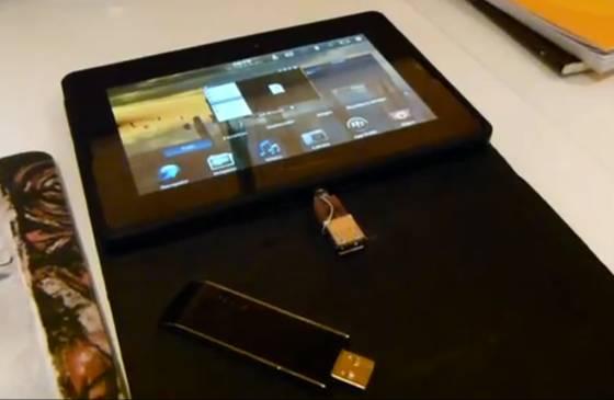 BlackBerry PlayBook USB host mode