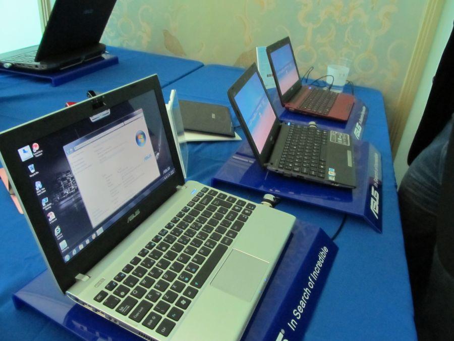Asus Eee PC 2012 lineup