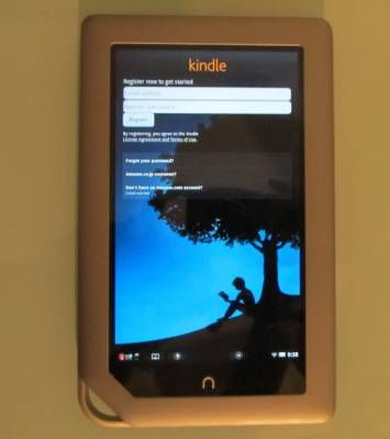 NOOK Tablet with Kindle app