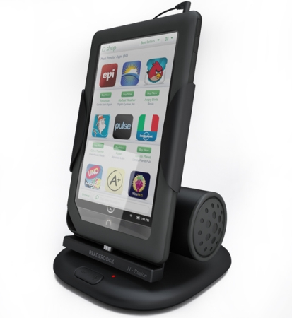 Readerdock Introduces Kindle Fire Nook Tablet Charging