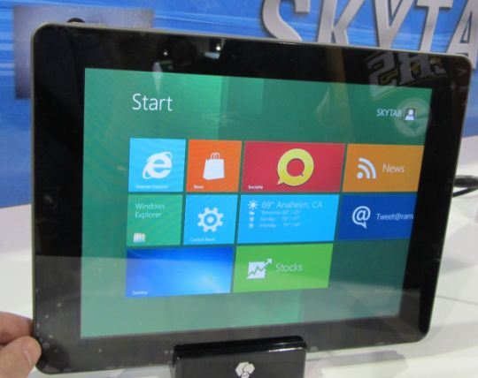 Skytex SkyTab S with Windows 8