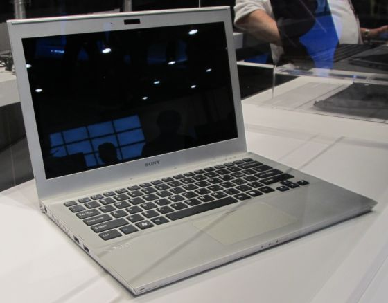 Sony Showcases Upcoming Ultrabook Prototype Liliputing