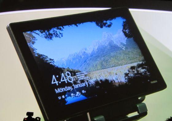 NVIDIA Tegra tablet with Windows