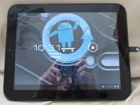 HP TouchPad with CyanogenMod 9