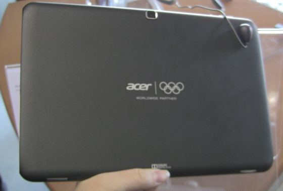 Acer tablet Olympic Edition