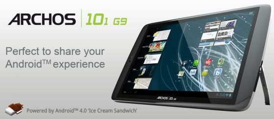 Archos 101 with Android 4.0