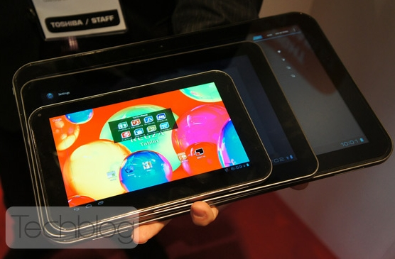 Toshiba 39 s 13 inch android tablet prototype gets a tv tuner for 13 inch table