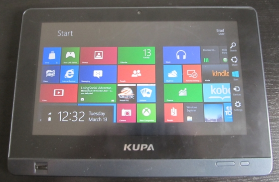 Kupa X11 tablet with Windows 8 Consumer Preview