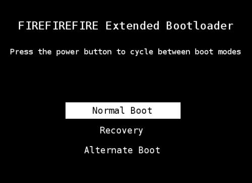 Kindle Fire multiboot
