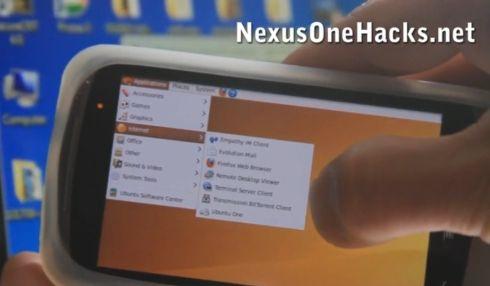Google Nexus One with Ubuntu