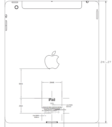 New iPad at the FCC