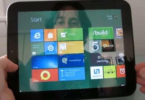 Windows 8/HP TouchPad