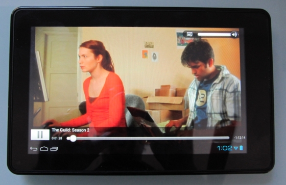 Amazon Kindle Fire with Netflix and Android 4.0
