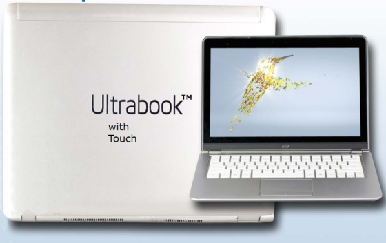 Ultrabook with touch
