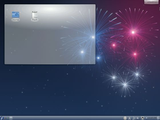 Fedora 17 KDE