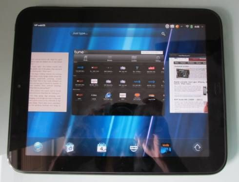 HP TouchPad with webOS