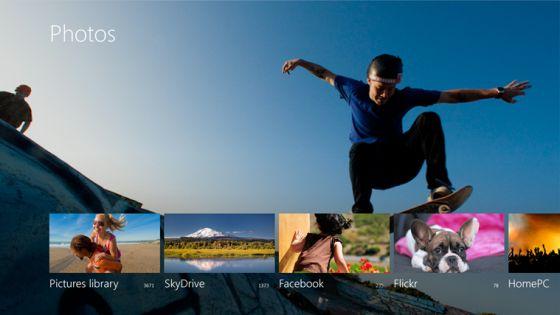 Windows 8 Photos app