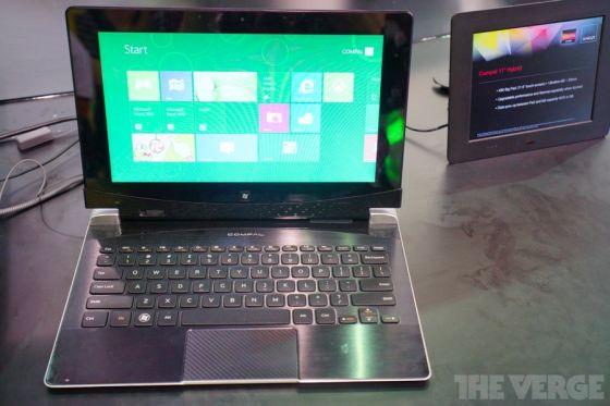 AMD Windows 8 Hybrid tablet