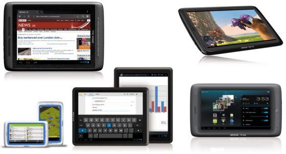 Archos Arnova G3 tablets
