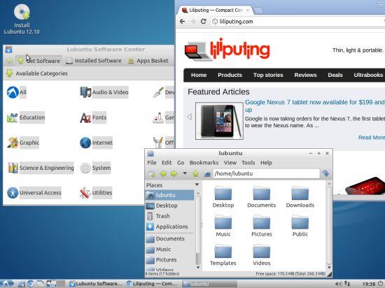 Lubuntu 12.10 Alpha 2
