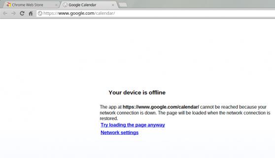 Chrome OS offline